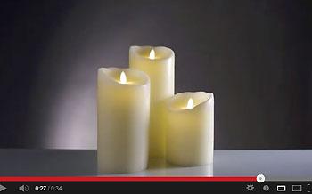 kerzenlicht ganz ohne feuer trendxpress. Black Bedroom Furniture Sets. Home Design Ideas