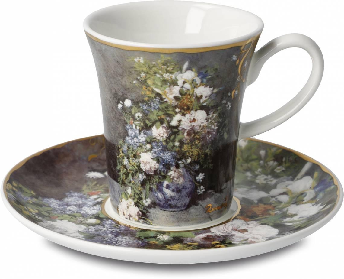 Goebel - Artis Orbis Renoir Frühlingsblumen Espressotasse