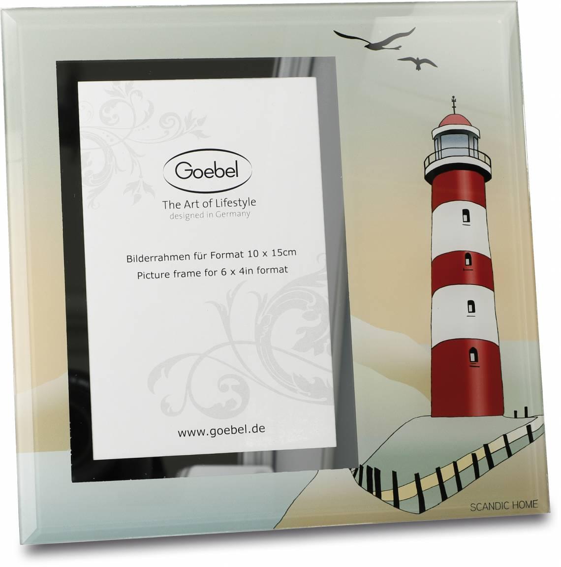Goebel Scandic Home Bilderrahmen Lighthouse