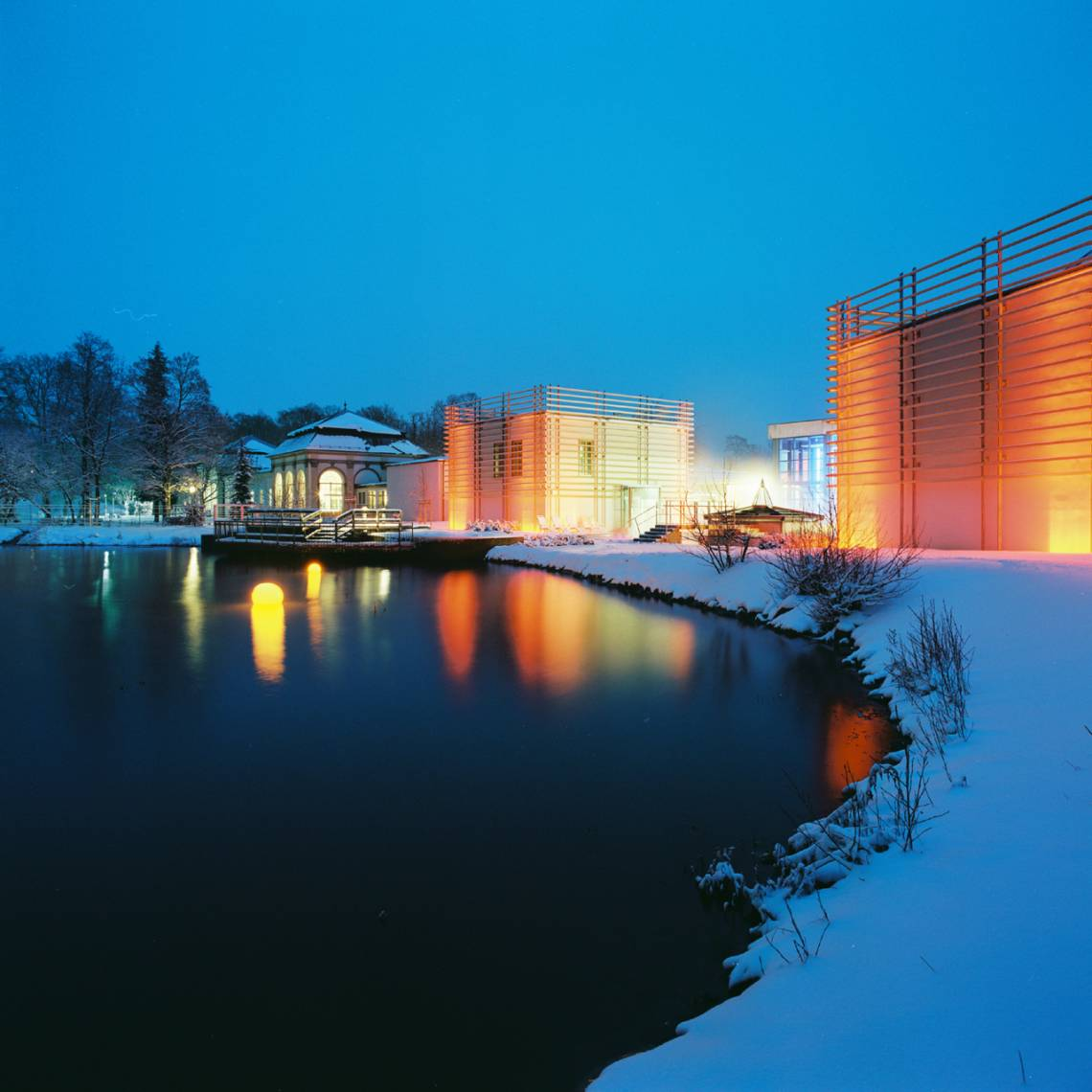 Bad-Steben/Kurpark-winter
