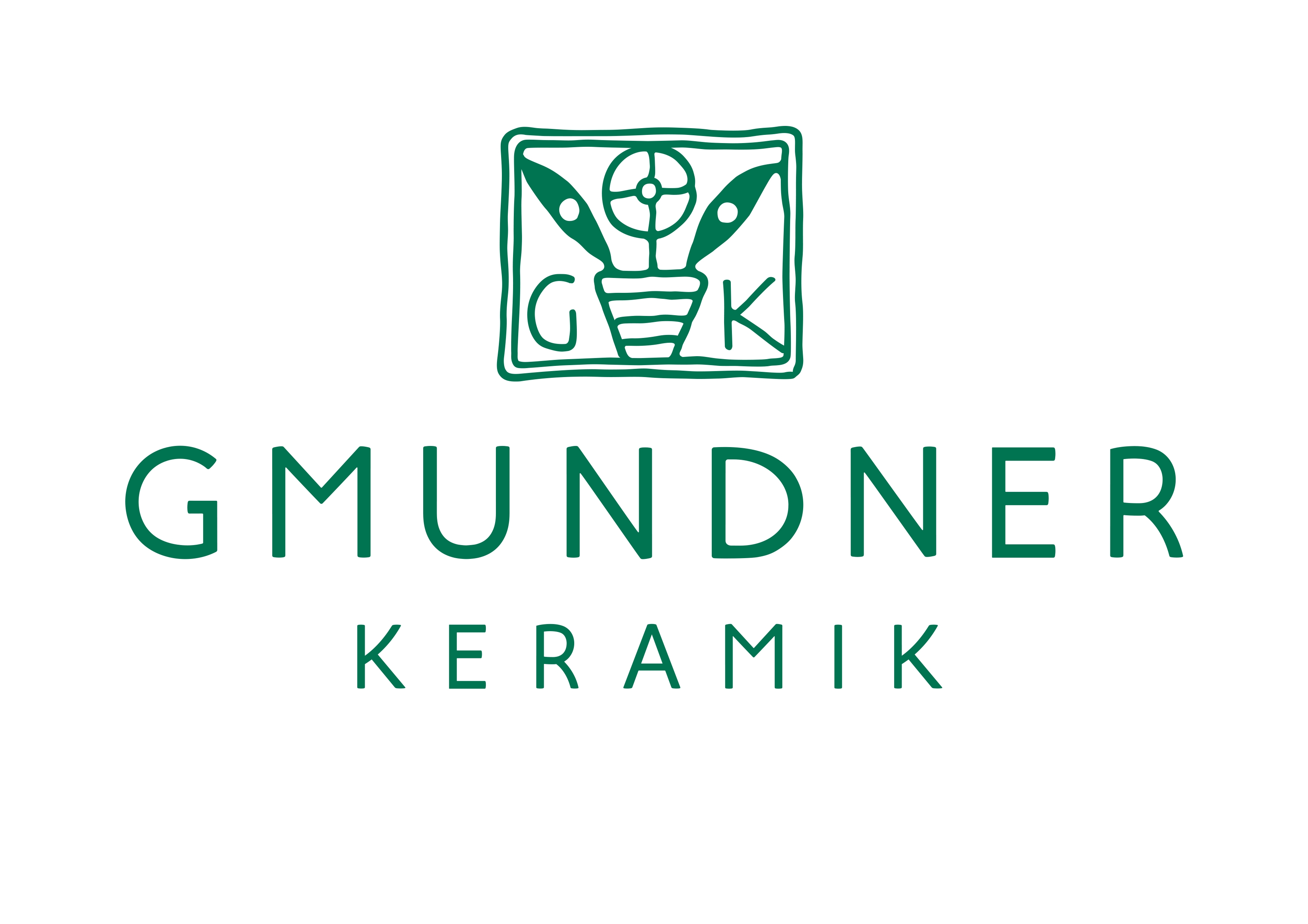 Logo Gmundner Keramik