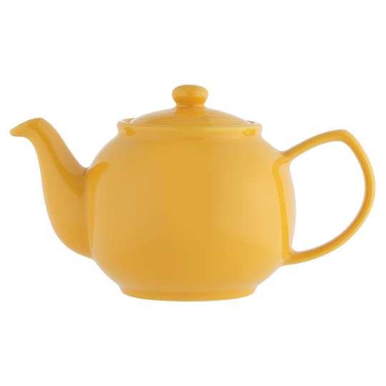 rice&Kensington Teekanne senfgelb 6 Tassen