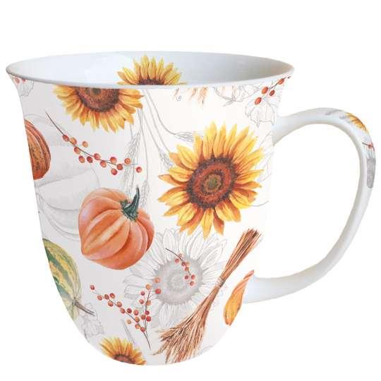 Ambiente - Pumpkins&Sunflowers - Henkelbecher 0,4 l