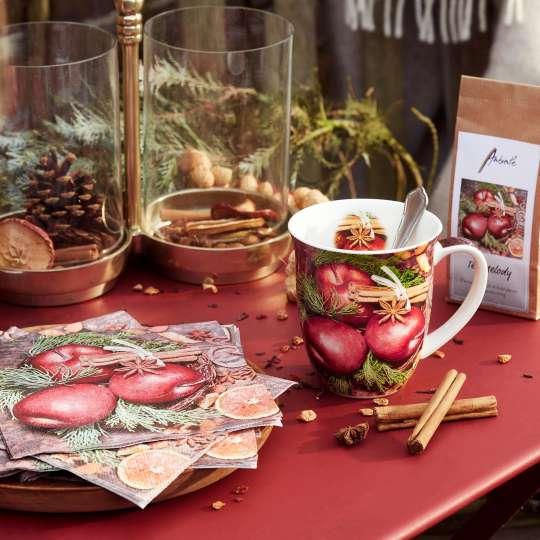 Ambiente - Winter Apples - Kollektion - Zapfen und Zimt