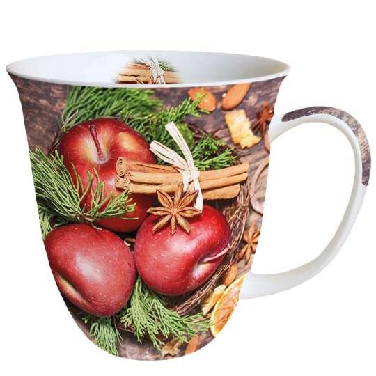 Ambiente - Winter Apples - Henkelbecher, 0,4 l
