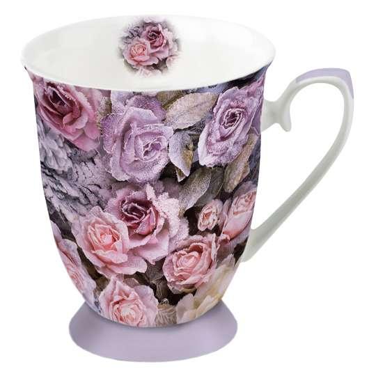Ambiente - Winter Roses - Henkelbecher, 0,25 L