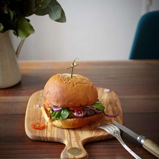 Berard - Racine - Schneidbrett Olivenholz - Burger