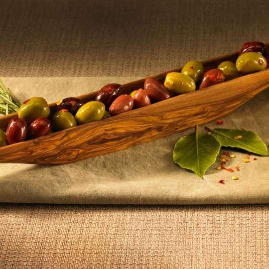 Berard - Olivenboot-Schale aus Olivenholz