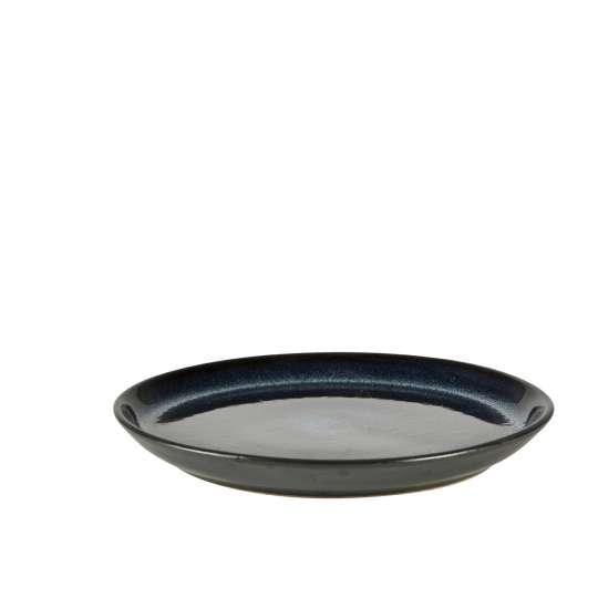 GASTROTELLER -schwarz/dunkelblau