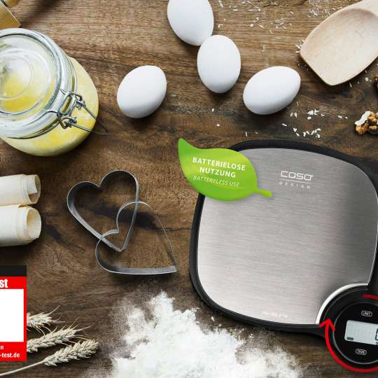 CASO - EcoMaster Küchenwaage - Testurteil