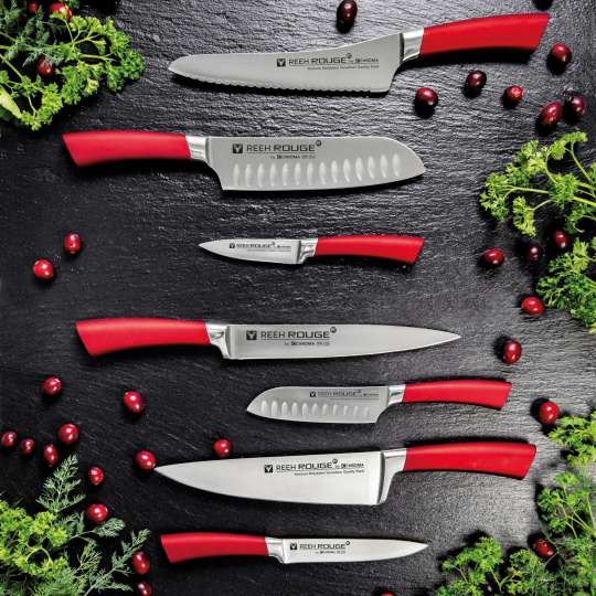 Chroma - Serie Reeh Rouge - Messer Übersicht