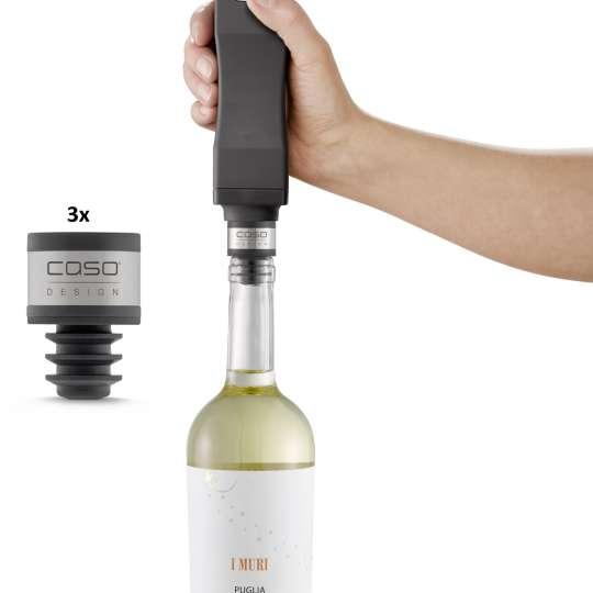 CASO Design - WineLock mit Handvakuumierer