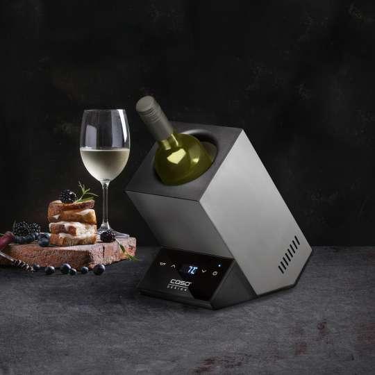 CASO Design - WineCase One Weinkühler - Wein und Snacks
