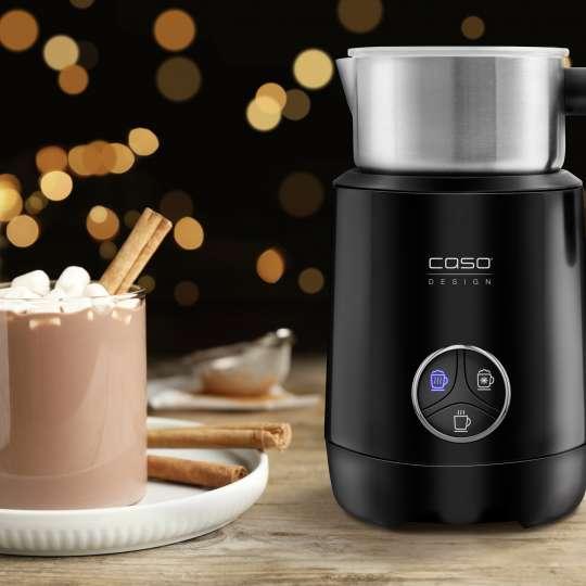 CASO Design - Crema Latte & Choco Milchaufschäumer - heißer Kakao