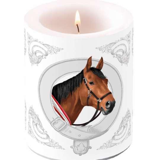 "Ambiente Design Kollektion ""Classic Horse""  Kerze groß  - 19214995"