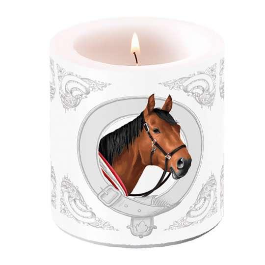 "Ambiente Design Kollektion ""Classic Horse""  Kerze klein - 19114995"
