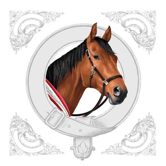 "Ambiente Design Kollektion ""Classic Horse""  Lunchservietten - 13314995 Cocktailservietten - 12514995"