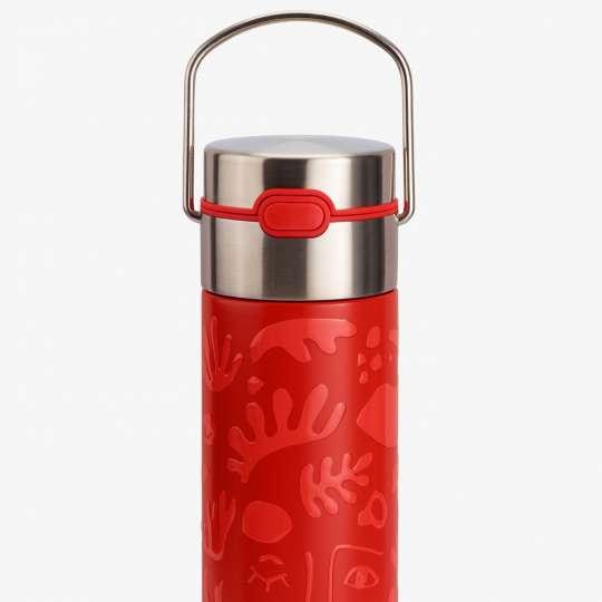 Eigenart – Flasche LEEZA OPERA rot 4260082938110