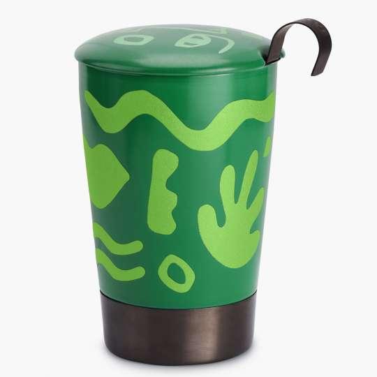 Eigenart – doppelwandiger Porzellanbecher OPERA grün 4260082938066