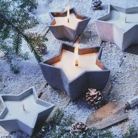Mia Sternenschalen von Engels Kerzen