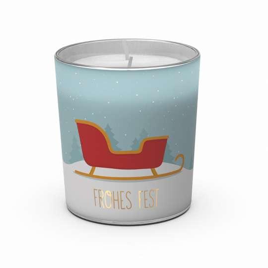 Winterlicht Schlitten von Engels Kerzen
