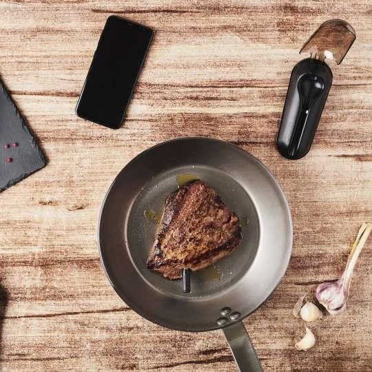 Mastrad MEATIT+ F74380 –Steak in der Pfanne