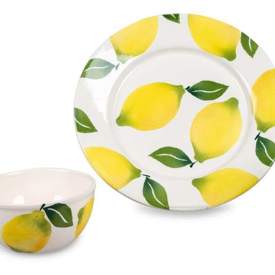 Formano Lemon Garten - Teller und Schale