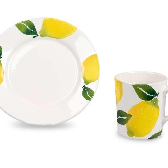 Formano Lemon Garten - Teller und Becher