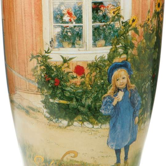 Goebel - Artis Orbis Larsson Vase Britta mit Katze
