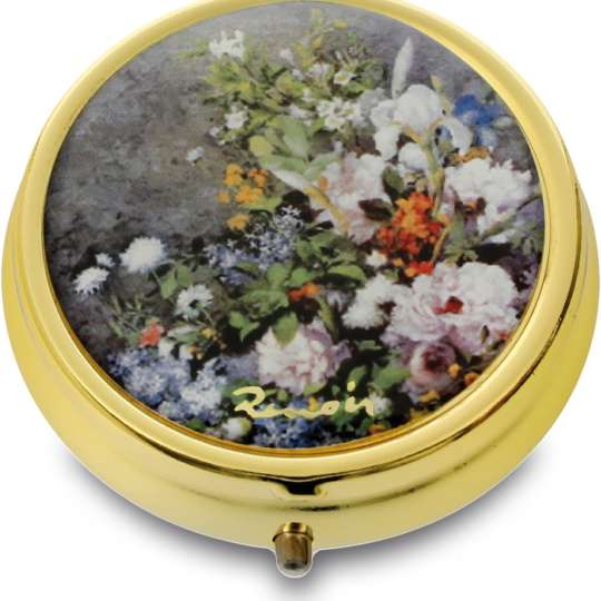 Goebel Artis Orbis Renoir Frühlingsblumen Pillendose
