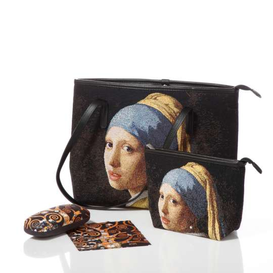 Goebel Porzellan Artis Orbis Umhängetasche und Kosmetiktasche