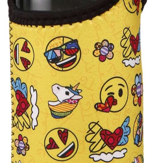 Goebel-Porzellan-Glasflasche-Pop-Art-Romero-Britto-Emoji-66453061