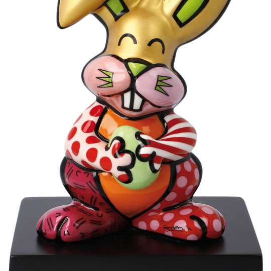 Goebel-Porzellan-Pop-Art-Britto-Orange-Rabbit