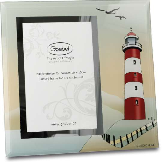 Goebel Scandic Home Bilderrahmen Lighthouse