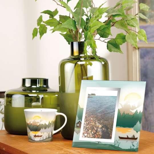 Goebel Scandic Home Mountain Peace Mug und Bilderrahmen