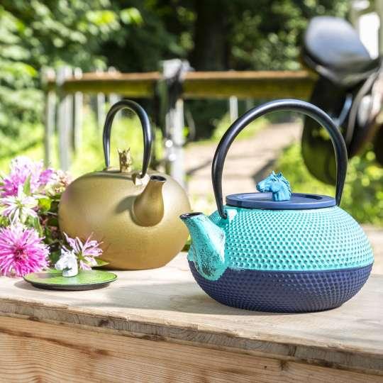 jaunendlich: Frühling / Teekannen - Tisch
