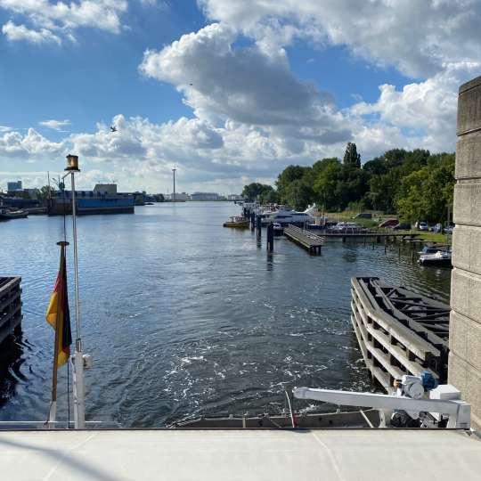 Klappbrücke Doctor JM. den Uylbrug, Zaanstad
