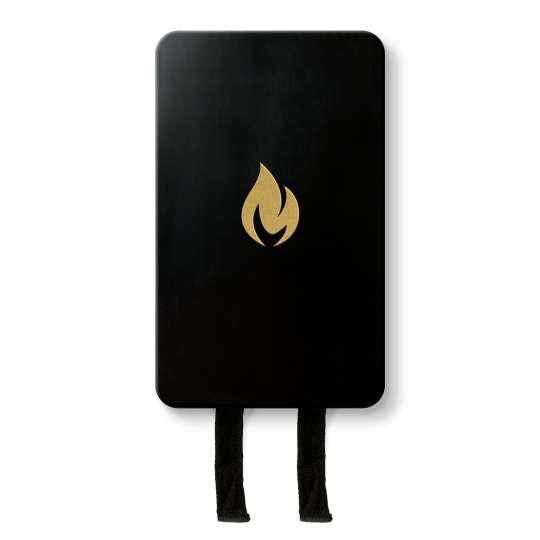Nordic Flame – Loeschdecke in Design Box schwarz/gold –N230