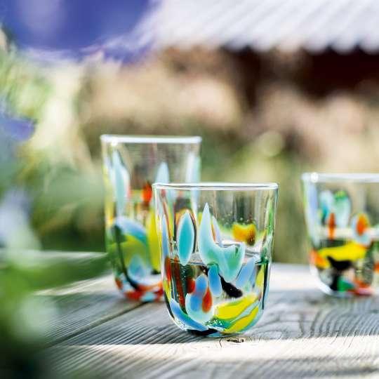 LEONARDO - PORTOFINO - farbenfrohe Gläser