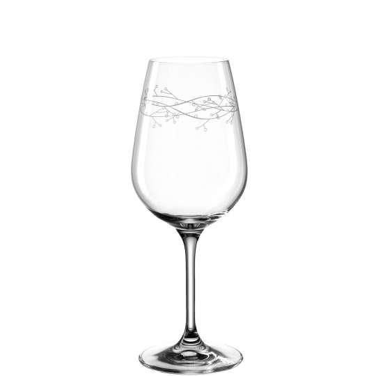 030797 NEVE Weißweinglas 450ml Mistelzweig