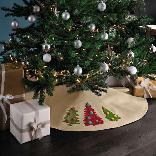 Linvosges Baumdecke Weihnachtsstimmung