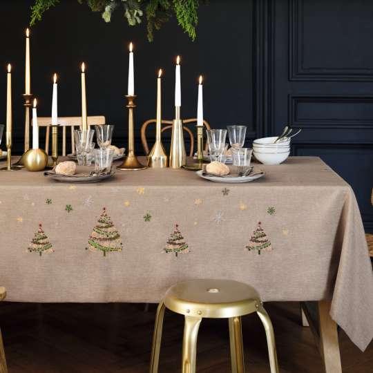 Linvosges-Tischdecke-Weihnachtszauber