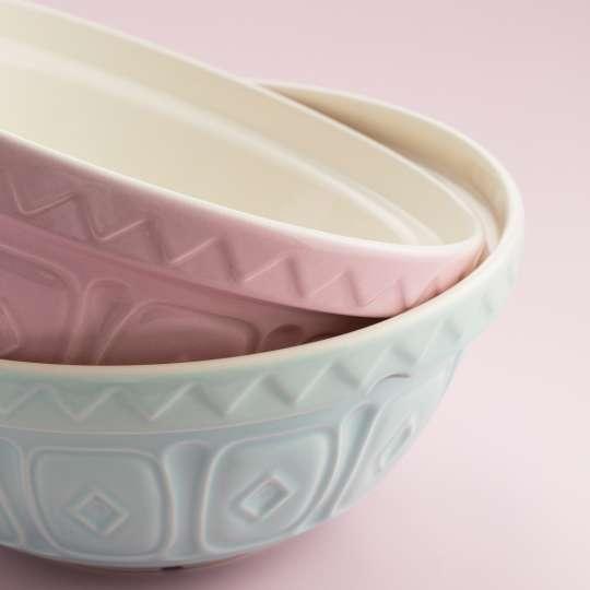 MasonCash farbige Rührschüssel, rosa-hellblau