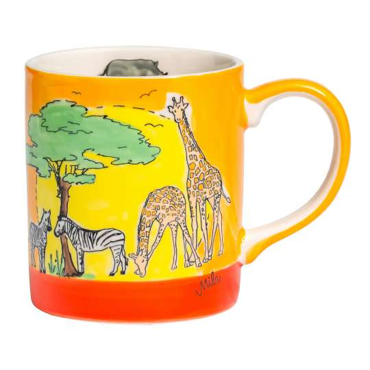 Mila Design - Kaffee-Becher Motiv Afrika -80211