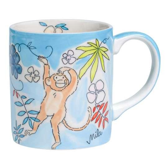 Mila Design Becher Monkey - 80214