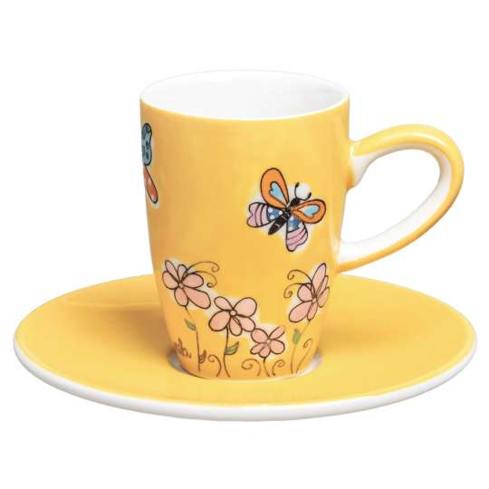 Mila Design Schmetterlinge Espresso 88226