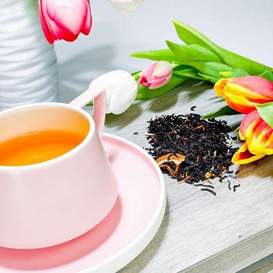 Nibelungentee - Osterfeuer Tee und Tulpen