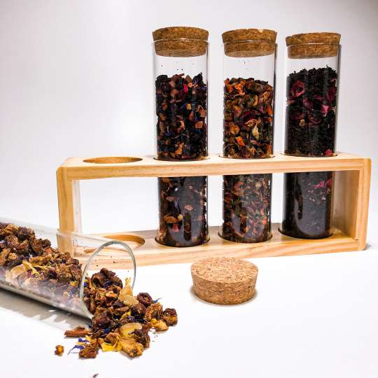 Nibelungentee - Tee Reagenzgläser XL Geschenk-Set