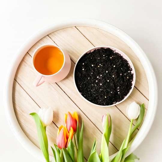 Nibelungentee - Osterfeuer Tee, Samen und Tulpen