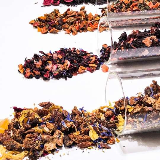 Nibelungentee - verschiedene Teesorten lose